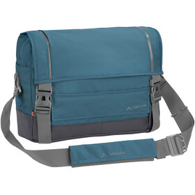 VAUDE Cyclist Messenger Bag M, blue gray